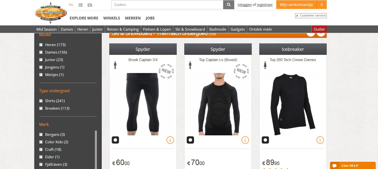 Thermisch ondergoed: niet goedkoop, maar ik kan het wel gebruiken!